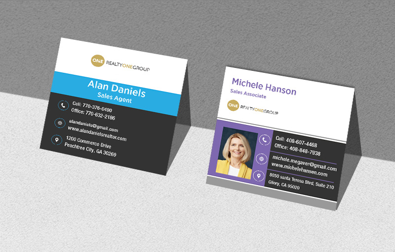 Realty One Group Custom Business Card Products