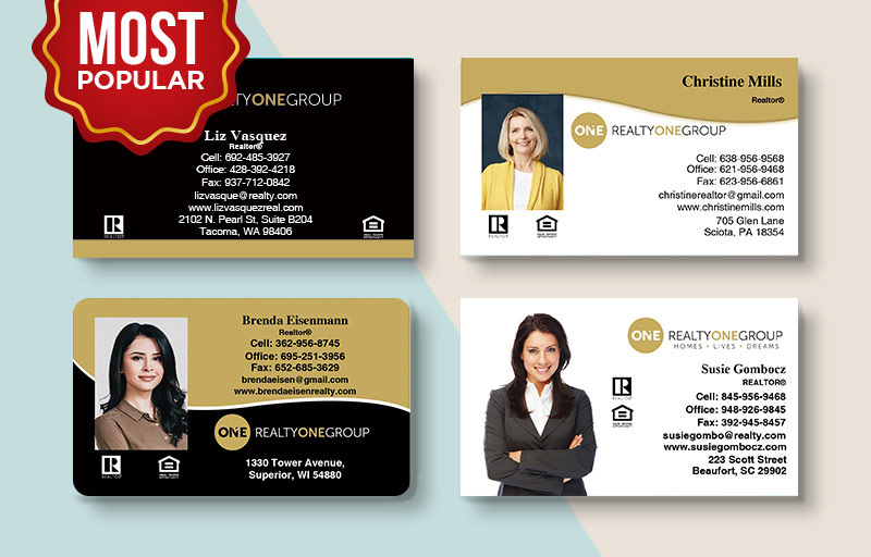 Realty One Group Upload Business Card Products