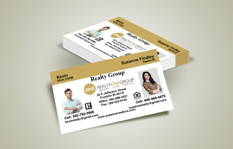 Realty One Group Real Estate Team Business Cards - Realty One Group marketing materials | BestPrintBuy.com