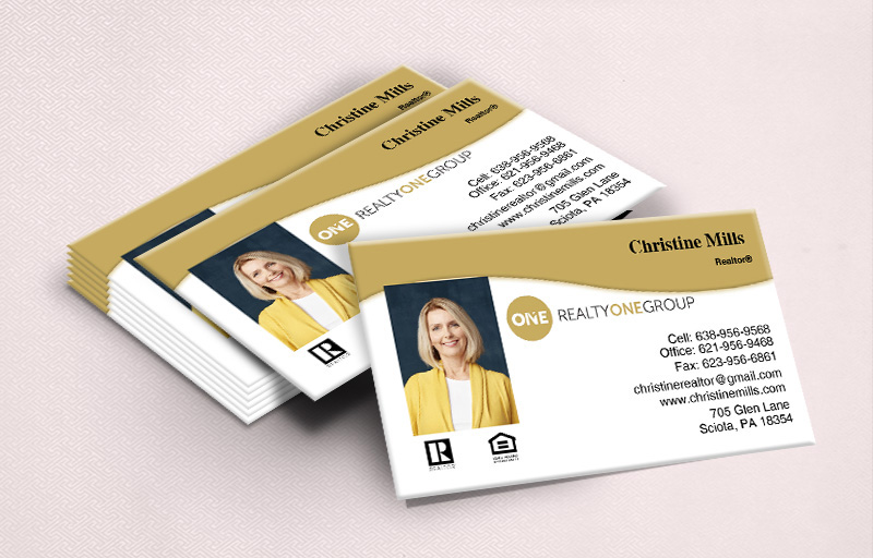 Realty One Group Ultra Thick Business Cards Approved Vendor Online
