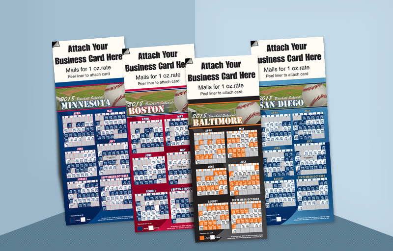Realty World Real Estate Baseball Schedules - Realty World custom sports schedule magnets | BestPrintBuy.com