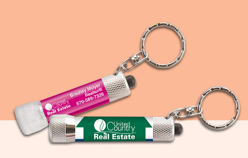 United Country Real Estate Flashlights - United Country Real Estate personalized promotional products | BestPrintBuy.com
