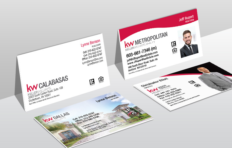 Keller Williams Real Estate Ultra Thick Business Cards - KW Approved Vendor Thick Stock & Matte Finish Business Cards for Realtors | BestPrintBuy.com
