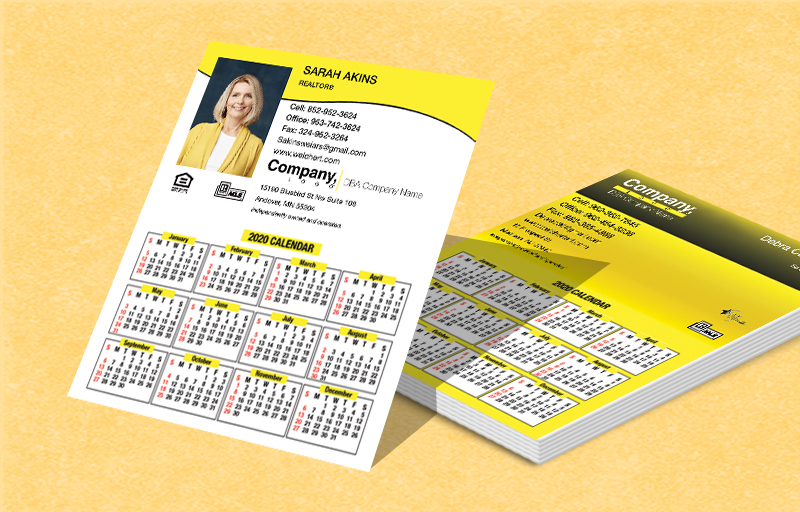 Weichert Real Estate Mini Business Card Calendar Magnets - Weichert  2019 calendars | BestPrintBuy.com