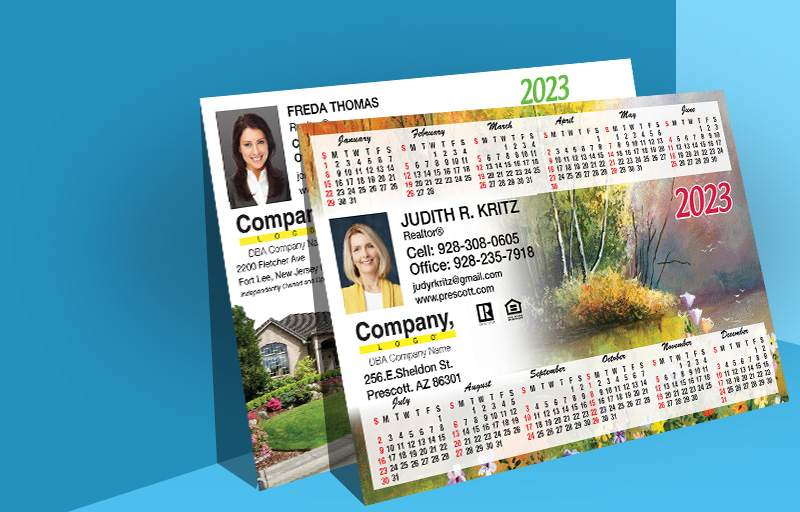 Weichert Real Estate Full Calendar Magnets - Horizontal - 5.5