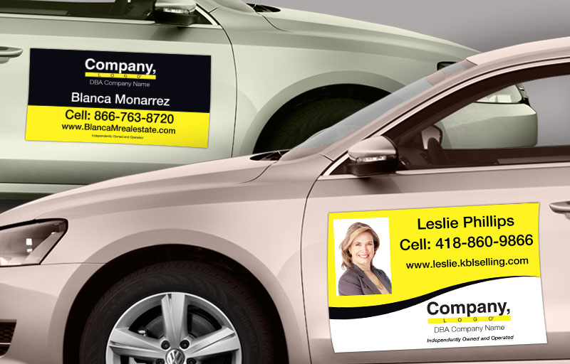 Weichert Real Estate Car Magnets - Weichert car door magnets | BestPrintBuy.com