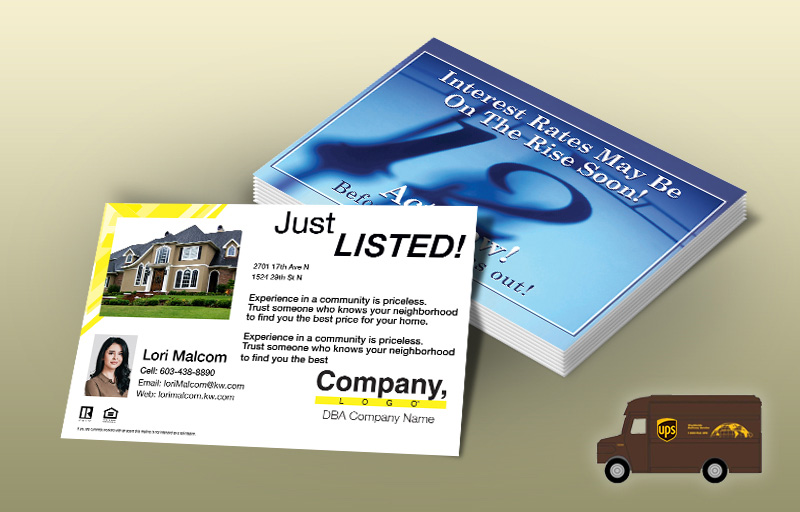 Weichert Real Estate EDDM Postcards - Weichert personalized Every Door Direct Mail Postcards | BestPrintBuy.com