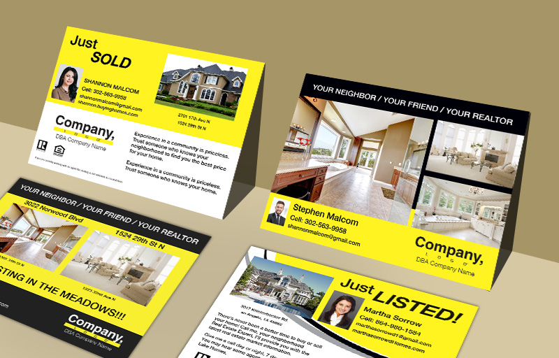 Weichert Real Estate Property EDDM Postcards - Weichert  postcard templates and direct mail services | BestPrintBuy.com