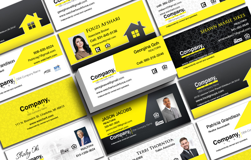 Weichert Real Estate Mini Business Cards - Weichert Unique Business Cards on 16 Pt Stock for Realtors | BestPrintBuy.com