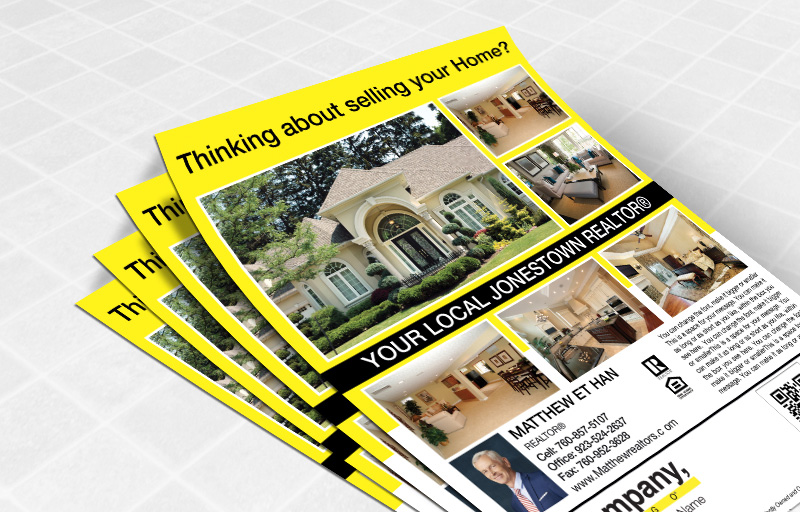 Weichert Real Estate Flyers and Brochures - Weichert one-sided flyer templates for open houses and marketing | BestPrintBuy.com
