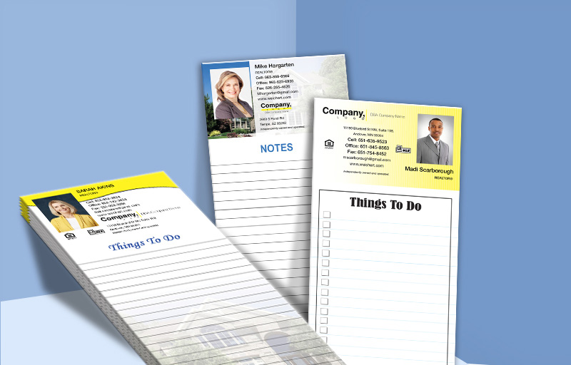 Weichert Real Estate Personalized Notepads - Weichert custom stationery and marketing tools | BestPrintBuy.com