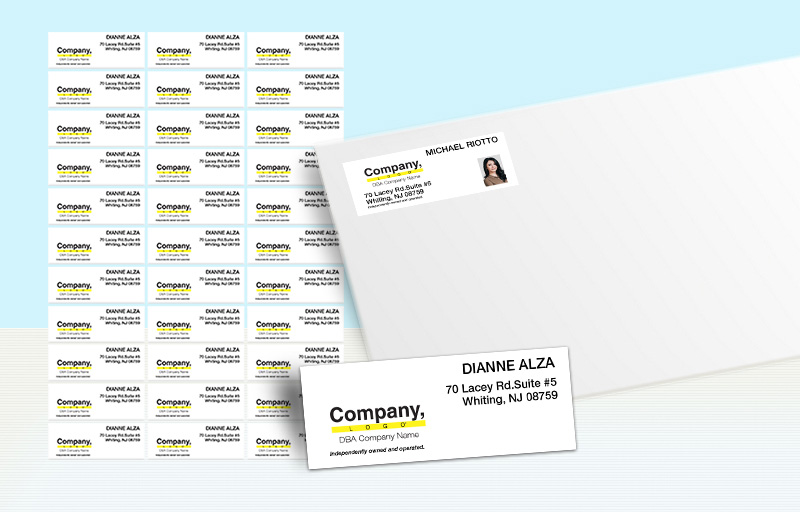 Weichert Real Estate Return Address Labels - Weichert  personalized mailing labels for envelopes | BestPrintBuy.com