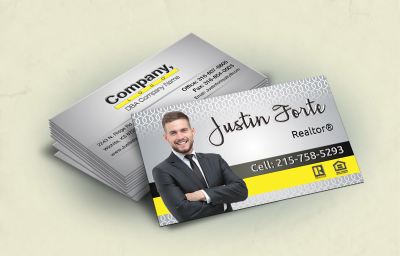 Weichert Real Estate Standard Corner Spot UV(Gloss) Raised Business Cards - Weichert - Glossy, Embossed Business Cards for Realtors | BestPrintBuy.com