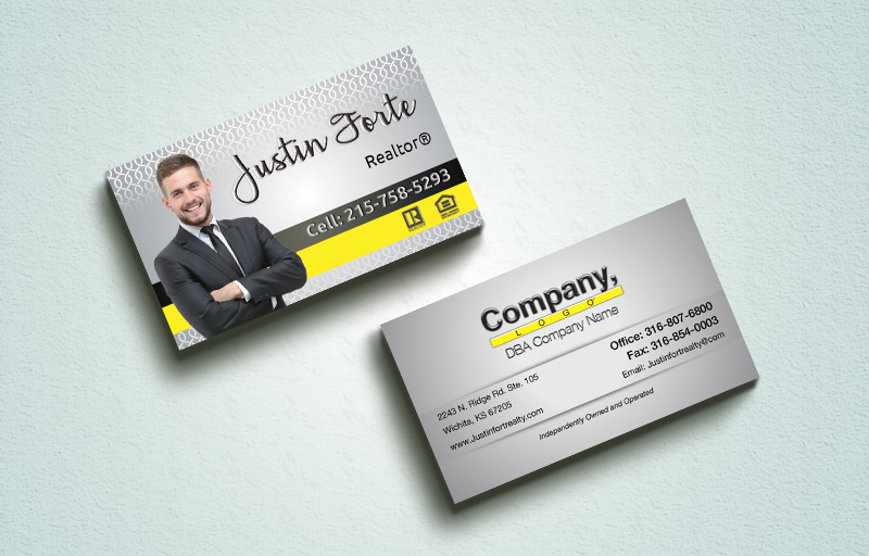 Weichert Real Estate Spot UV (Gloss) Raised Business Cards - Weichert Luxury Raised Printing & Suede Stock Business Cards for Realtors | BestPrintBuy.com