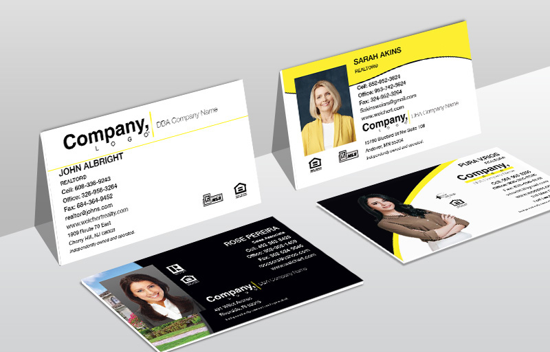 Weichert Real Estate Ultra Thick Business Cards - Weichert Thick Stock & Matte Finish Business Cards for Realtors | BestPrintBuy.com