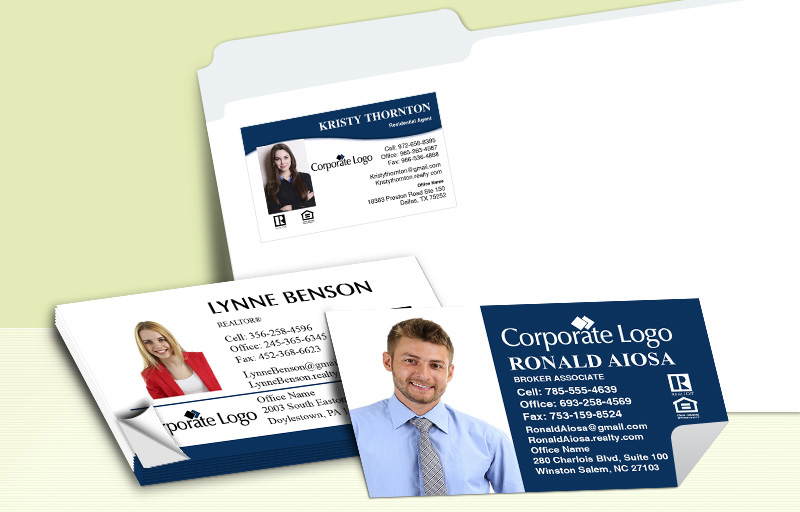 Windermere Real Estate Business Card Labels - Windermere Real Estate  personalized stickers with contact info | BestPrintBuy.com