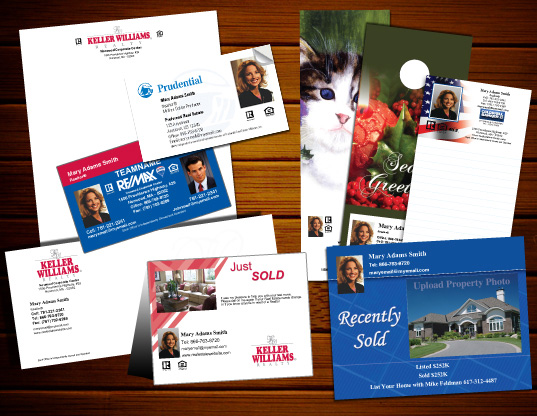Real estate promotional materials real estate marketing for Custom marketing materials
