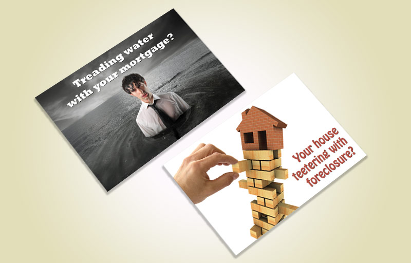 Foreclosure Post Cards | BestPrintBuy.com