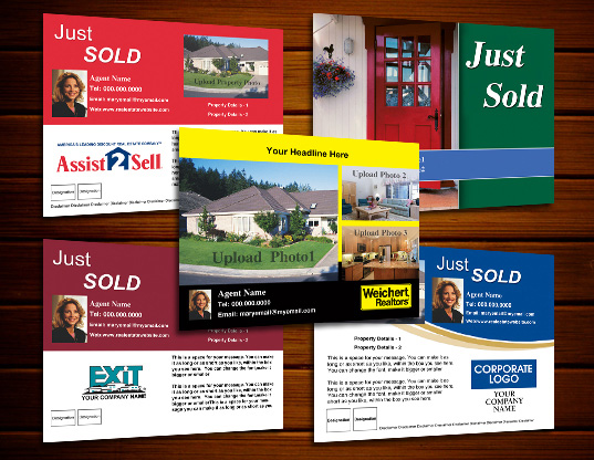 Just Sold Postcards Online Designs Ideas Templates Custom – Real Estate Marketing Postcard Templates