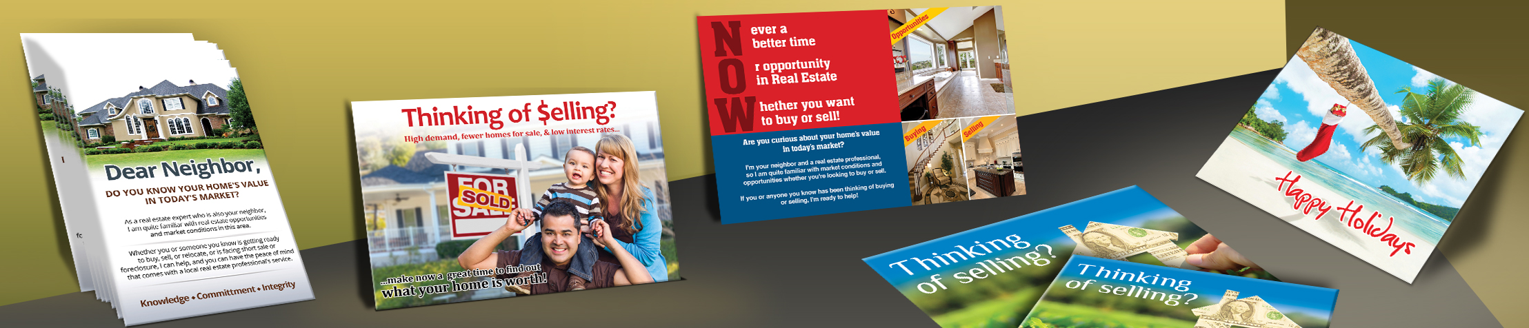 Real Estate Marketing Post Cards