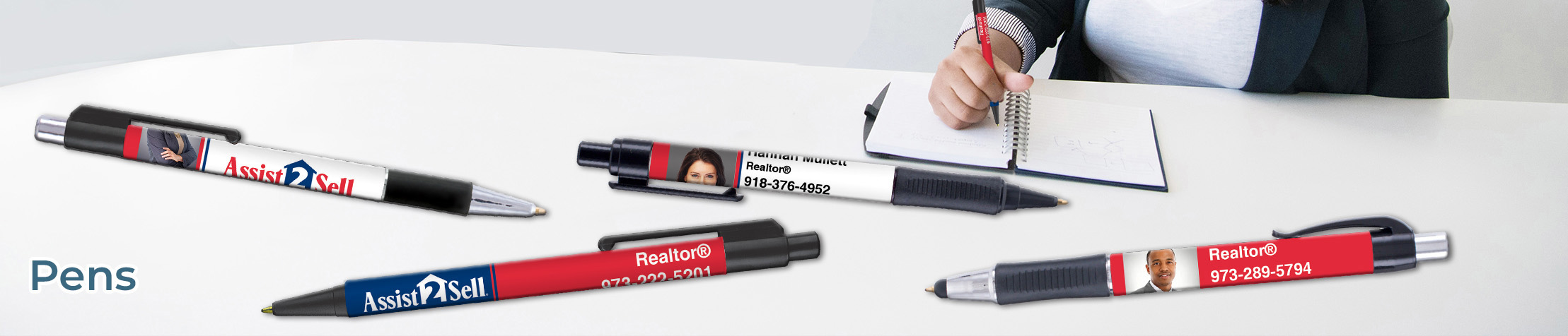 Assit2Sell Real Estate Pens - Assit2Sell Real Estate  personalized realtor promotional products | BestPrintBuy.com