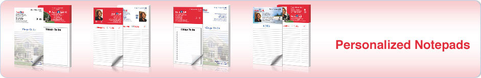 Assist 2 Sell Personalized Notepads