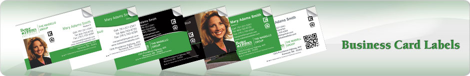 Better Homes And Gardens Business card Labels