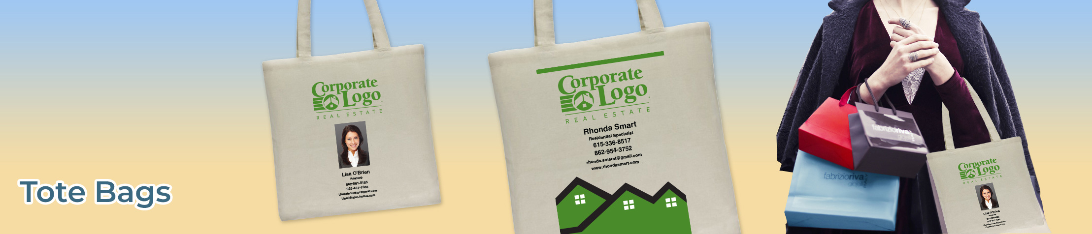Better Homes and Gardens Real Estate Tote Bags - BHGRE  personalized realtor promotional products | BestPrintBuy.com