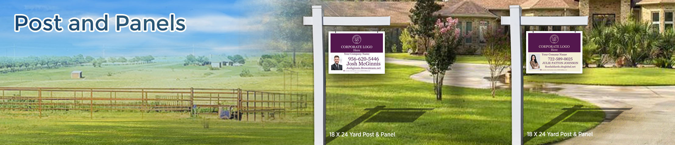 Berkshire Hathaway Real Estate Post and Panel - Berkshire Hathaway  real estate signs | BestPrintBuy.com