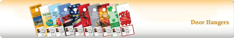 Century 21 Real Estate Door Hangers
