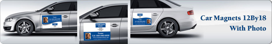 Coldwell Banker Real Estate Car Magnets 12 X 18 With Photo