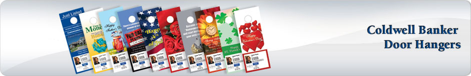 Coldwell Banker Real Estate Door Hangers