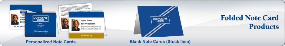 Coldwell Banker Real Estate Folded Cards