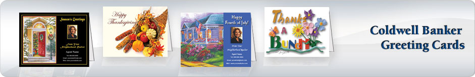 Coldwell Banker Real Estate Greeting Cards