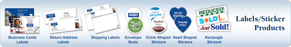 Coldwell Banker Real Estate Labels & Stickers