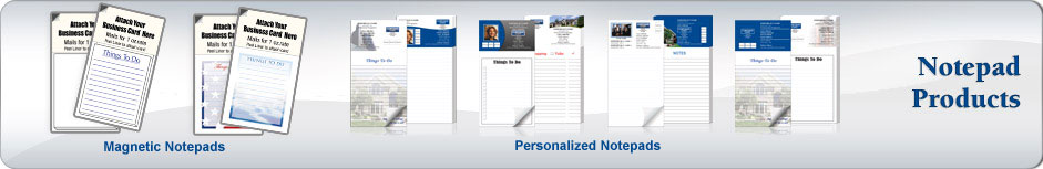 Coldwell Banker Real Estate Notepads