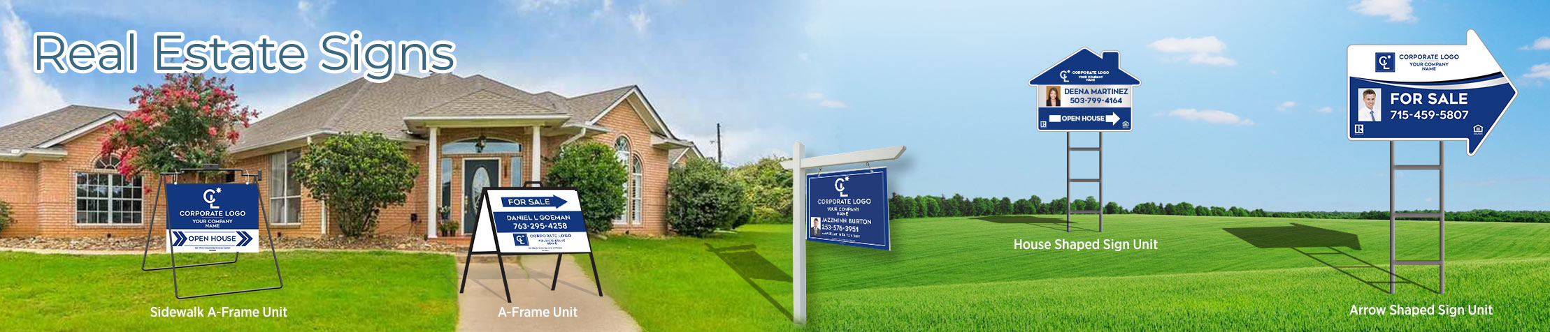 Coldwell Banker Real Estate Signs