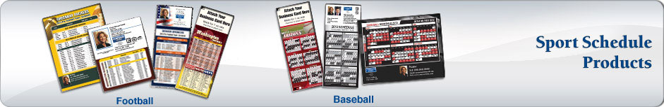Coldwell Banker Real Estate Sports Schedules