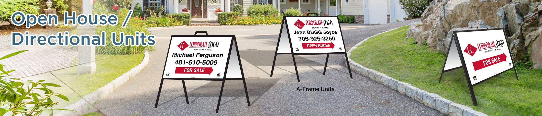 HomeSmart Real Estate Open House/Directional Units - HomeSmart  directional real estate signs | BestPrintBuy.com