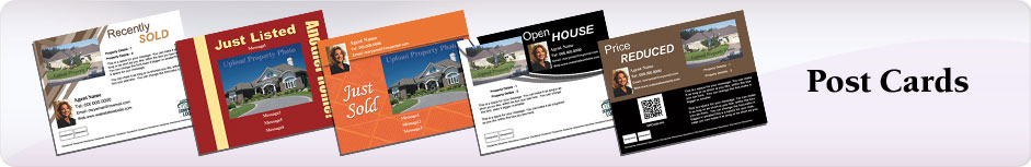 Independent Realtor Real Estate Postcards