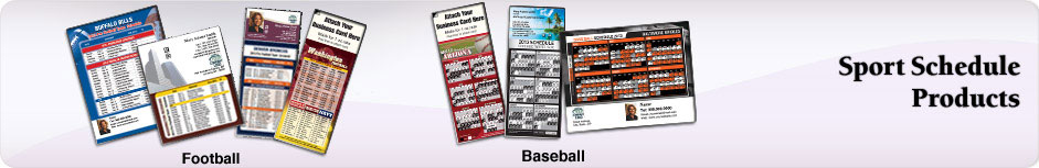 Independent Realtor Real Estate Sports Schedules