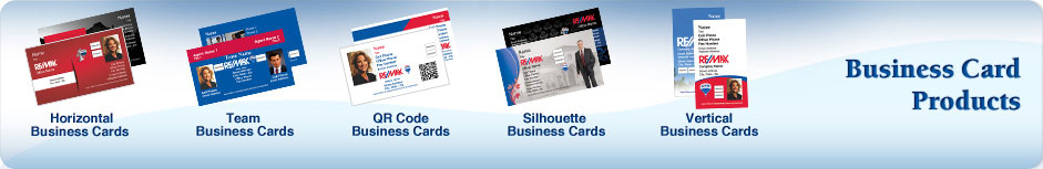 RE/MAX Real Estate Business Cards