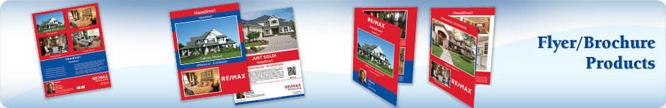 RE/MAX Real Estate Flyers