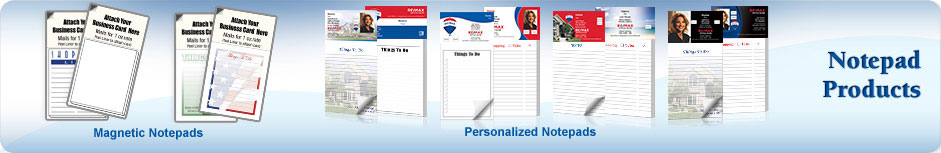 RE/MAX Real Estate Notepads