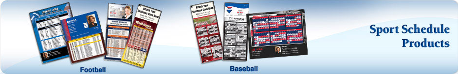 RE/MAX Real Estate Sports Schedules