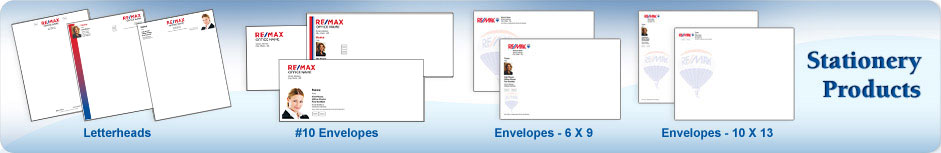 RE/MAX Real Estate Stationery