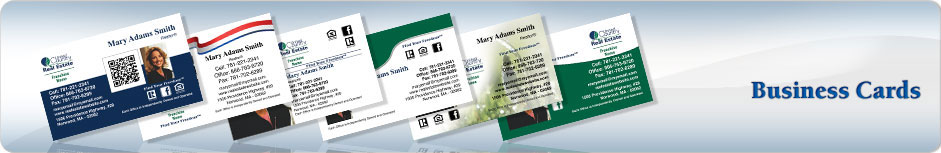 United Country Real Estate Business Cards