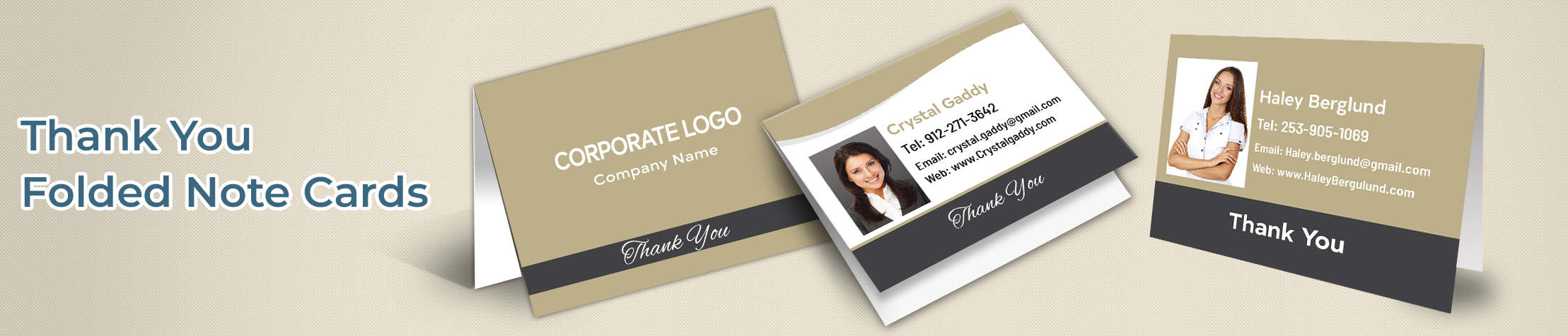 Century 21 Real Estate Thank You Folded Note Cards - Century 21  thank you cards stationery | BestPrintBuy.com