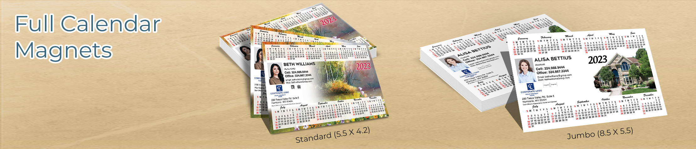 Coldwell Banker Real Estate Full Calendar Magnets - Coldwell Banker 2019 calendars in Standard or Jumbo Size | BestPrintBuy.com