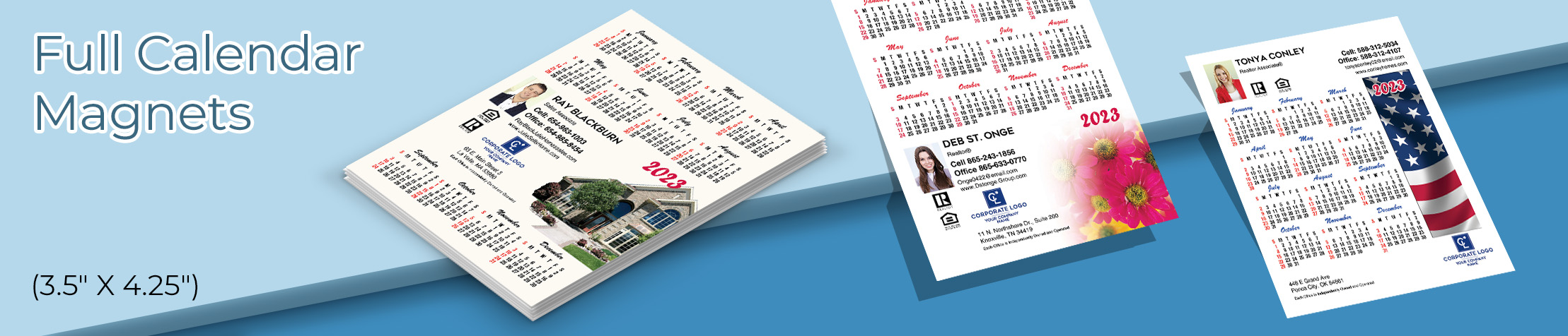 "Coldwell Banker Real Estate Full Calendar Magnets - Coldwell Banker 2019 calendars, 3.5"" by 4.25"" 